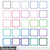 Frames - Pastel and Jewel Tone