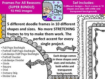 Frames for All Reasons {SUPER BUNDLE}