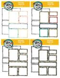 Frames that Fit Set 1,2,3 and 4 Bundle