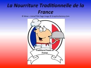 France Cultural Foods Lesson