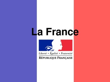 France Geography Powerpoint
