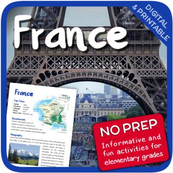France (Fun stuff for elementary grades)