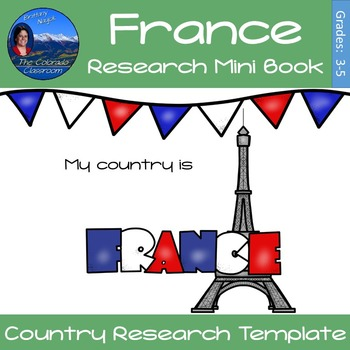 France - Research Mini Book
