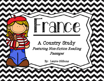 France Unit ~ Featuring Non-fiction Passages and Comprehen