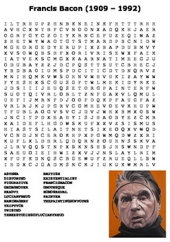 Francis Bacon Word Search