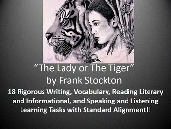 """Frank Stockton's """"The Lady or The Tiger"""" – 18 Common Core"""