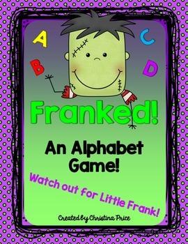 Halloween Alphabet Game