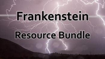 Frankenstein Bundle: Blog Activity, Gallery Walk, & Themat