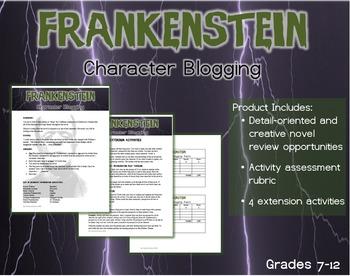 Frankenstein Review- Character Blogging