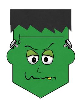 Frankenstein Fractions on a Number Line