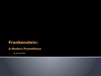 Frankenstein Introduction Powerpoint