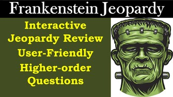 Frankenstein Jeopardy Test Review