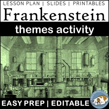 Frankenstein Themes Textual Analysis Activity