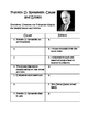 Franklin D. Roosevelt Cause  and Effect