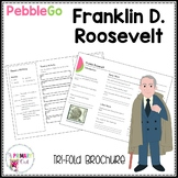 Franklin D. Roosevelt Pebble Go research brochure