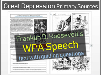 Franklin D. Roosevelt - Primary Source Documents, linked t