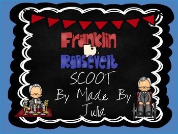 Franklin D. Roosevelt Scoot! Great for Georgia Milestone!