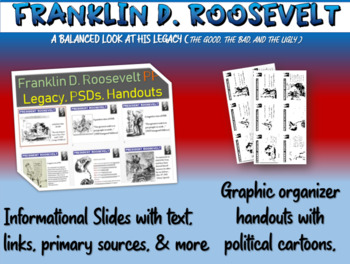 Franklin D. Roosevelt - primary sources and legacy DBQ han