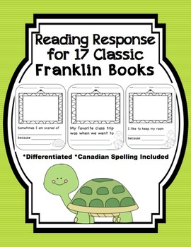 Franklin The Turtle - Reading Response