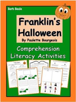 Franklin's Halloween - Comprehension Literacy Activities -