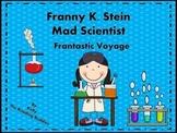 Franny K Stein Frantastic Voyage comprehension / writing ideas