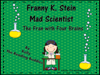 Franny K. Stein The Fran With Four Brains comprehension/wr