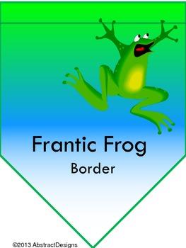 Frantic Froggy Border