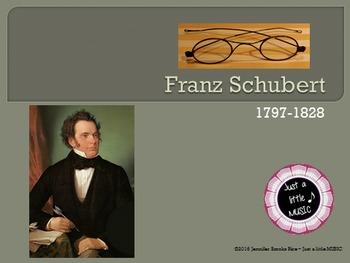 Franz Schubert...his life and music PPT