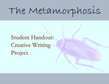 Franza Kafka The Metamorphosis ; Student handout for Creat
