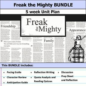 Freak the Mighty Unit Bundle