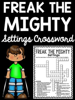 Freak the Mighty Settings Crossword Puzzle Review
