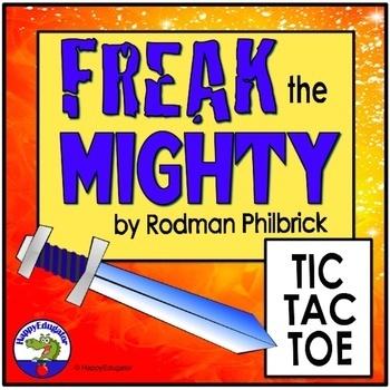 Freak the Mighty Tic Tac Toe