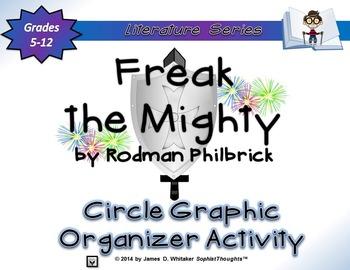 Freak the Mighty by Rodman Philbrick Circle Graphic Organi