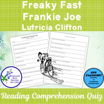 Freaky Fast Frankie Joe A Bluebonnet Award Nominee Compreh