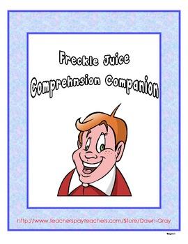 Freckle Juice Extension Activity