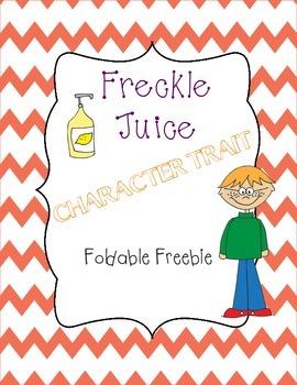 Freckle Juice Foldable Freebie