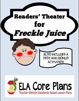 Freckle Juice Readers' Theater Mini Unit
