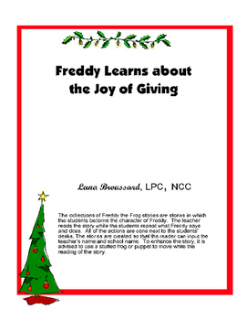 Freddy Learns about the Joy of Giving