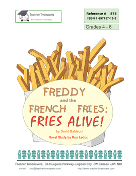 Freddy and the French Fries by David Baldacci: Novel study