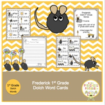 Frederick Dolch 1st Grade Words