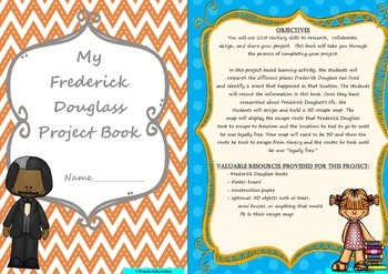 Frederick Douglass: A Project Based Learning Activity