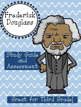 Frederick Douglass Assessment Packet: Study Guide, Vocabul