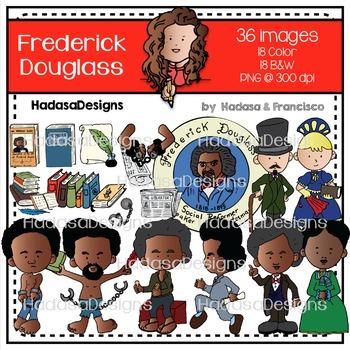Frederick Douglass Clip Art Combo Pack