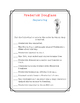 Frederick Douglass Close Read, Comprehension, and Writing Packet