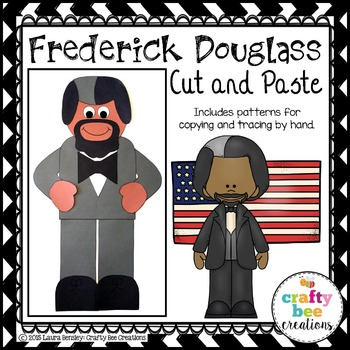 Frederick Douglass Cut and Paste
