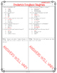 Frederick Douglass Diagram & Comprehension Questions
