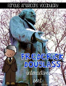 Frederick Douglass {Interactive Vocabulary Sort}