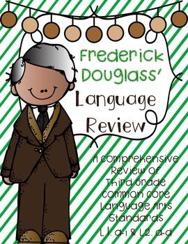 Frederick Douglass Language Review {Common Core Language A