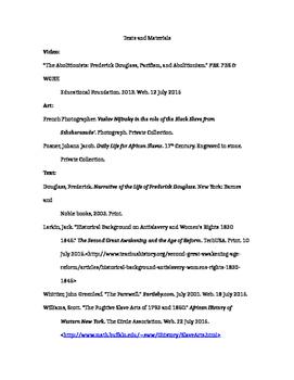 Frederick Douglass Narrative/Research Essay Complete Unit