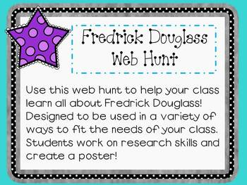 Fredrick Douglass Web Hunt